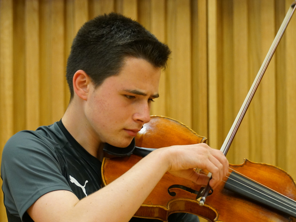 Jaren Ziegler is excited about returning to play at the Royal Festival Hall next month.
